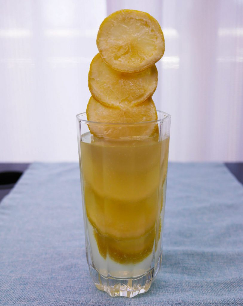 冷凍レモンスカッシュ